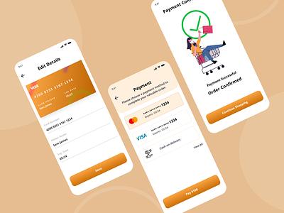 Trending Payment App UI Design ui design ui mobile app design online payment app design banking app bank app payment method payment app payment