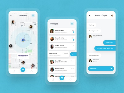 Best Chat UI Designs for Mobile App uiux ui design mobile app design app design mobile app message app messenger chatting app chatting chat app chat