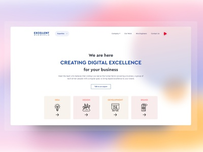 Redesigned Our Website With Minimal UI Design ui  ux ui design clean ui website concept minimal web redesign website redesign website design redesigned redesign concept redesign website