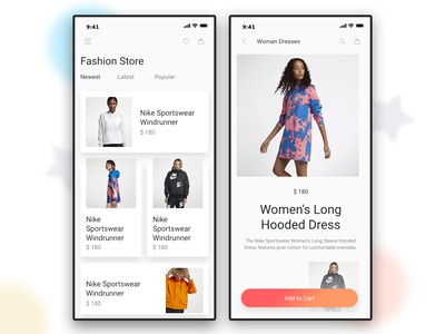 Make an App for Online Shopping Fashion, Clothing Store