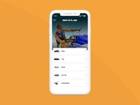 Develop a Car, Bike, Boat Rental Mobile App