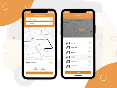 On-Demand Ride-sharing Mobile App