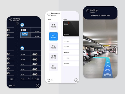 Car Parking AR App Development