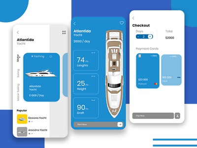 On Demand Yacht /Boat Booking App