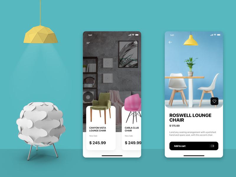 Furniture Store Design App design challenge mobile app design mobile app app design furniture website furniture design furniture store furniture