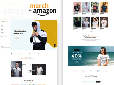 How Does Merch by Amazon Work? t-shirt print design t-shirt print tshirt design merch by amazon website design amazon branding design ux  ui ux design mobile app design app development mobile app app design