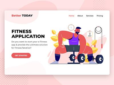 Health & Fitness App Development app developers app development uidesign appdesign uiux ui android iphone ios landing page fitness app fitness health app