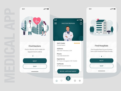Top Medical App for Patients & Doctors