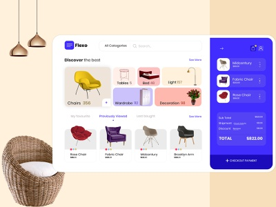 Best eCommerce Furniture Store Interface landing page ecommerce business ecommerce design modern ui modern uidesign interior design interior home decor furniture shop product design product fashion interface shopping furniture design chairs furniture website furniture store ecommerce