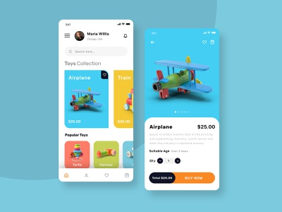 Toy Joy: An mCommerce Toy Store App mobile shopping ecommerce shop ecommerce design ecommerce app ecommence child application uiux mobile app design application app app design toy store toys for kids mobile app child app toy design toys app toys toy