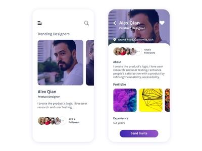Trending Popular Designers App