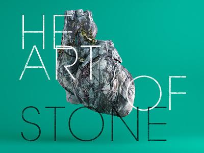 Heart of Stone heart c4d arnoldrender