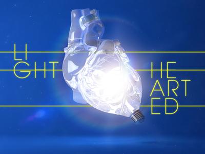 Light Hearted heart c4d arnoldrender