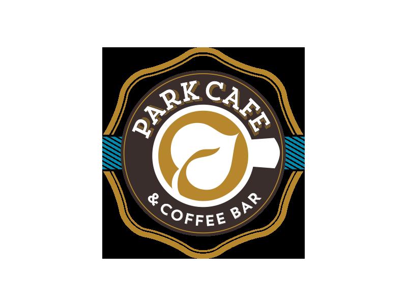 Park Cafe Final Logo identity cafe coffee badge logo