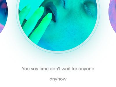 music app flat ui illustration typography identity branding icon app website design
