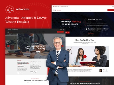 Advocatus Lawyer Attorney HTML Template javascript jquery css3 html graphicsdesign website design lawyer attorney