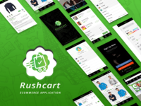RushCart - Multipurpose Ecommerce App UI Kit