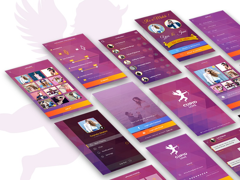 cupid dating app android