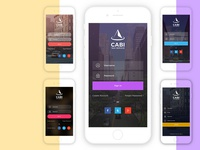 Free Cabi App UI - Sign in & sign up Kit | Download Now