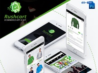RushCart - Multipurpose Ecommerce App UI Kit - Download Now