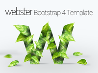Webster - Responsive Multi-purpose Bootstrap 4 Template