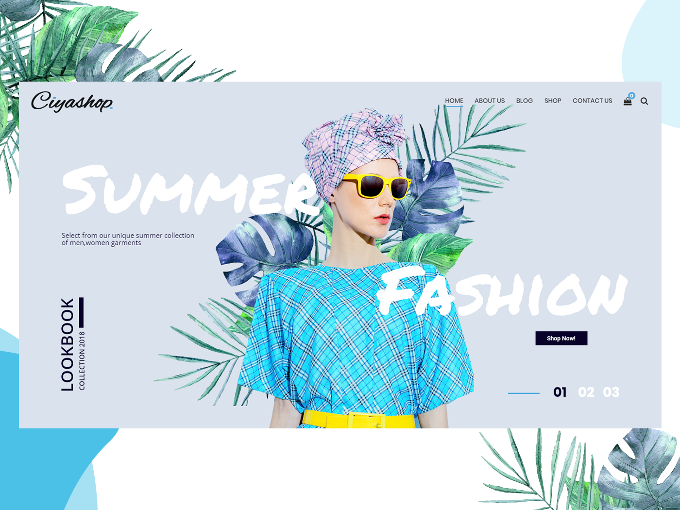 Summer Clothing Banners Metric Banners