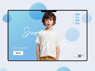 E-commerce Theme banner Design ii ui fashion illustration design e-commerce theme design white web landing page product design flat clean minimal ecommerce shop store design ui ux