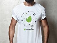 Envato community 2019 t shirt design light