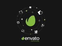 Envato community 2019 t shirt design vector