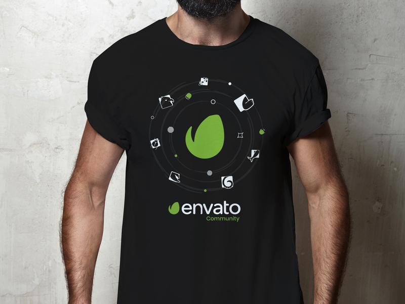 Envato Community 2019 T Shirt Design envato community tshirt design tshit envatomarket envato