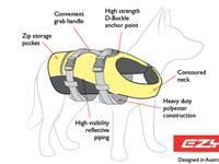 dog life jacket specs