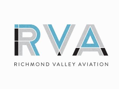 aviation mechanic logo option type split logo