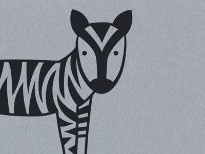 tiger stripes on a zebra zebra illustration africa quirky