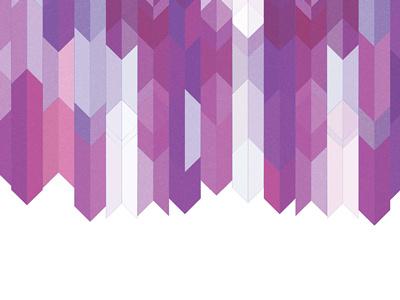 rejected client pattern repurposed arrows purple pattern