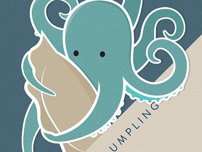 octopus dumpling illustration octopus dumpling gyoza