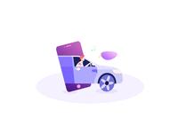 car illustrator