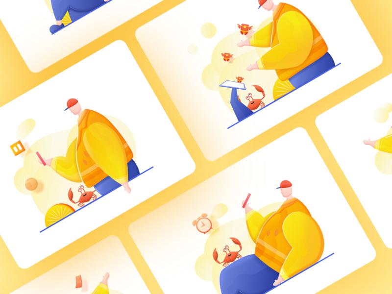 Start Page illustrator sketch