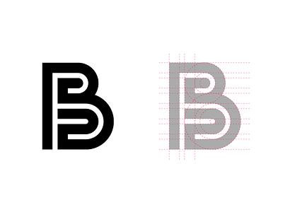 B letter logo letter vector dailylogochallenge branding logo design logo adobe illustrator