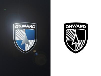 Onward driverless car car logo vector dailylogochallenge branding logo design logo adobe illustrator