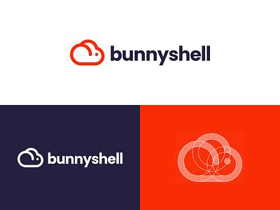 Bunnyshell dailylogochallengeday14 cloud rabbit bunny logoprocess dailylogochallenge vector branding logo design logo adobe illustrator