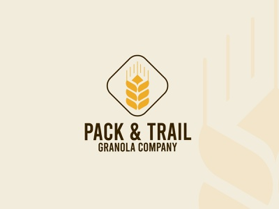 Daily Logo Challenge: Day 21 - Pick & Trail Logo Design logotype branding logo design logo vector logodesign designer illustration dailylogo logochallenge wheat wheat logo