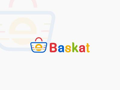 Ebaskat Logo Design for Ecommerce shop logodesign logo illustration designer logo design branding