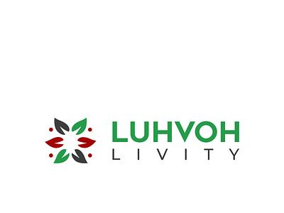 LUVOH LIVITY logodesign design illustration designer logo design spa logo