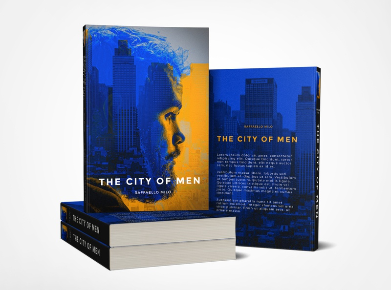 The City of Man Book Cover inspiration graphicdesign dribbble adobe design cover design man city book cover