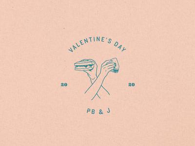 Valentine's Day PB & J's