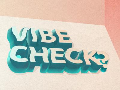 vibe check??? 🧐
