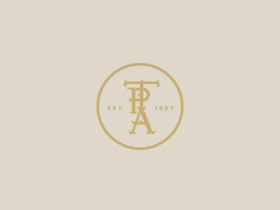 TPA Circular Monogram Seal & Pattern