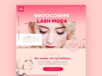 Lash Studio Web Site
