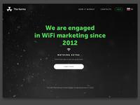 Wi-Fi Marketing Corporate Web SIte