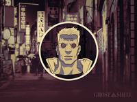 Batou Avatar Illustration (Redux)
